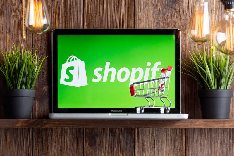 Shopify Faces Touch Competition